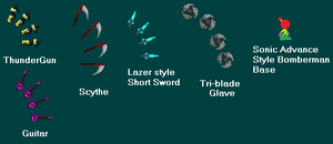 Weaponry Pack Sprites by Jason-Lexis