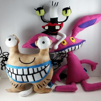 Ahh Real Monster Plushies by LittleCritters00