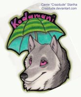 Kodamani Badge by Crazdude
