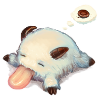 LoL - Sleepy Poro by cubehero
