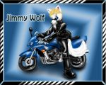 Jimmy Wolf and his Bike by jappodawg