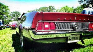1971 Ford Mustang by Marissa1997