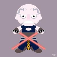 ADC: Ventress by striffle