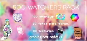 +Pack 500 watchers by CocoBenymon