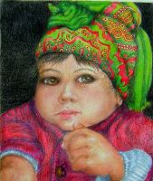 Afghani Baby by RealNsurreal