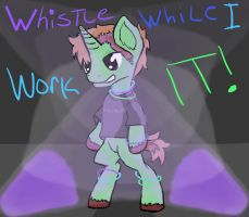 Whistle While I Work IT by TheHappyGreenDragon