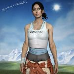 What i Gonna Do Now? | Chell | Portal by zoellisrus