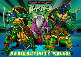 TMNT by poxpower