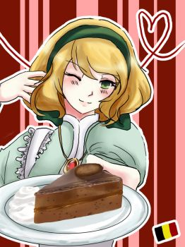 Roderich's Sachertorte by Vodka-Kola