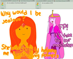 Question 14: Princess Bubblegum by Ask-Flame-Princess