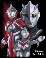 Ultraman NEXUS by browntabby
