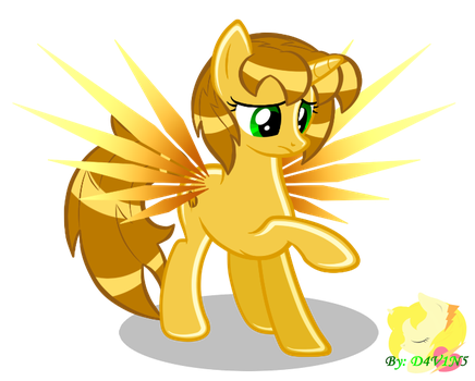 Golden Thunder by MidnaChangeling
