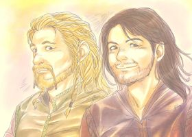 Fili and Kili by LinART