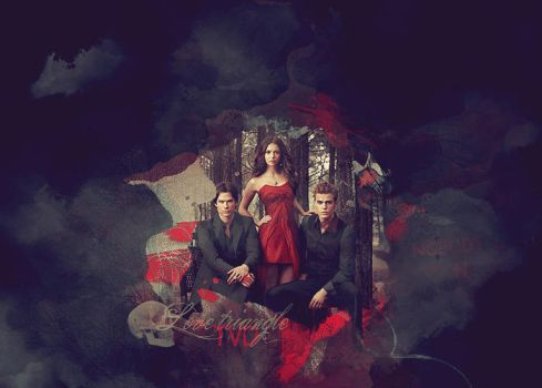 Collage feat TVD by Lucissh
