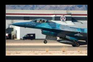 USMC F-16 Rollout by jdmimages