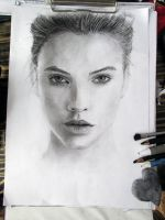 Barbara Palvin by SajjadArt