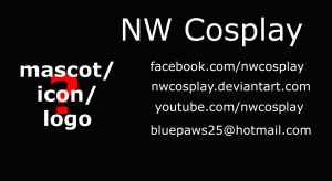 NW Cosplay RD business card by nwcosplay