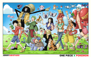 One Piece : Pokemon Island by JERRYABISTADO