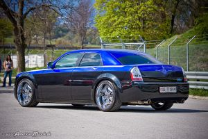 custom chrysler 300c by AmericanMuscle