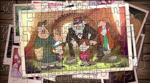 Gravity Falls Puzzle by ChadRocco