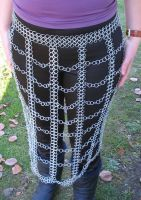 Chain Maille Skirt I by immortaldesigns