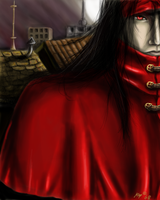 Vincent Valentine by kzeor