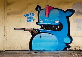 HA HA AND SHIT by The-Kiwie