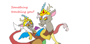 King and queen by Ask-Sly-Cooper