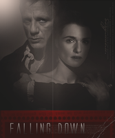 Falling Down by LadyofSnow