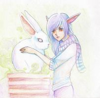 Bunny Goes in Pot by MissPinks