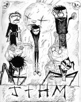 Johnny the Homicidal Maniac by RavensHaelo