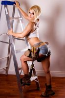 Girl at work by SangsterPhotography