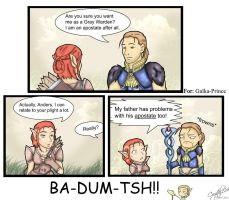 DAA- Mage Jokes aren't Funny by Crystal124