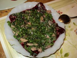 Duck Blood Pudding by SquishyPandaPower