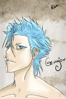Grimmjow II by Lovelorn-Insanity