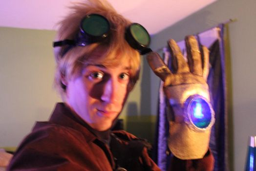 Old Stuff.  Ezreal Cosplay. by Timminz