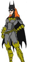 Batgirl Slight Redesign Color by Axel-Knight
