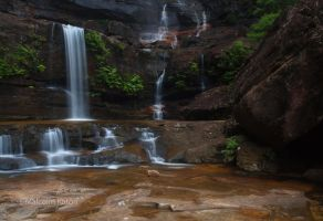 A Closer View- Wentworth Falls by FireflyPhotosAust