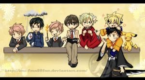 Ouran Host cosplay party by HostClub