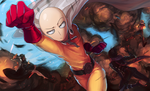 One-punch Man by Dragons-Roar