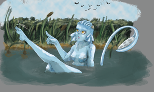 River Nymph by 500Heavens