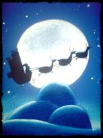 Santa Claus is comin'to town by Sakich