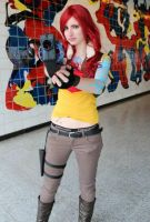Lilith cosplay come at me, I dare you! by Hellbunny46