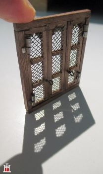 Wooden window in scale 1:50 by Wernerio