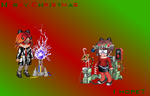 Gaia Christmas by powerpuffgirlsz