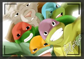 TMNT (fanmade) Same as it never was by FleshCreature