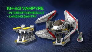 Vampyre Interceptor Landing Gantry by SWAT-Strachan