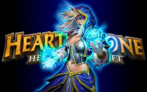 Hearthstone Wallpaper - Jaina v1 by mgbeach