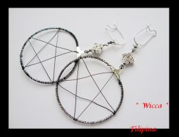 Wicca earings 2 by Marchia