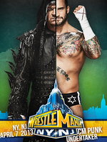 UNDERTAKER vs. CM PUNK / POSTER by findmyart